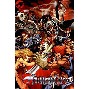Thundercats Villains on Thundercats Characters Group Tv Poster Print   24x36  Amazon Ca  Home
