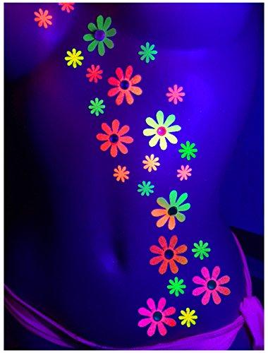 blacklight-daisy-body-stickers