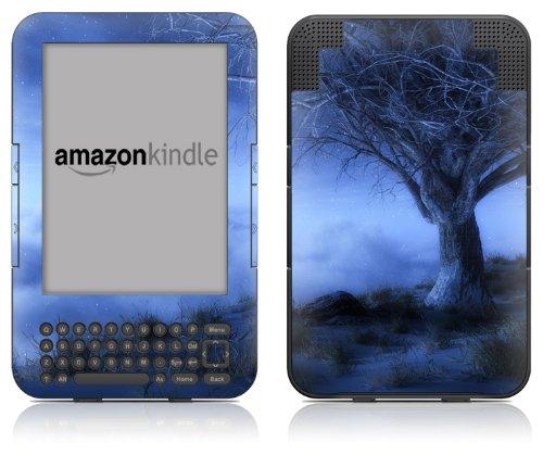 DecalGirl Kindle Skin (Fits Kindle Keyboard) World's Edge Winter (Matte Finish)