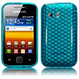 Samsung Galaxy Y S5360 TPU Gel Skin / Case / Cover - Blue