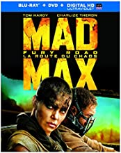 Mad Max: Fury Road [Blu-ray + DVD + Digital Copy] (Bilingual)