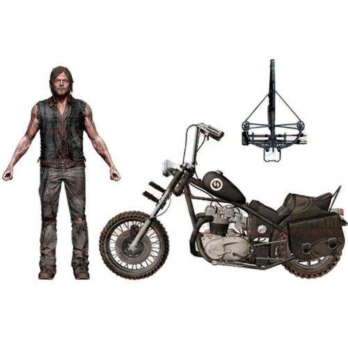 The Walking Dead TV Serie / Daryl Dixon Action Figure 5 Zoll mit Chopper Bike Deluxe Box-Set by McFarlane