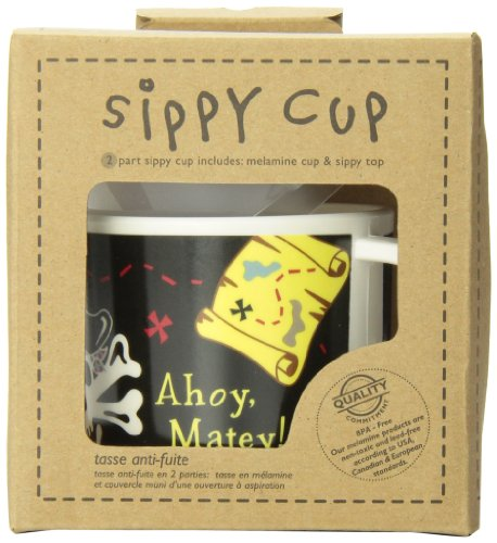 "Sugar Booger ""Ahoy Matey"" Feeding Collection Sippy Cup (Discontinued by Manufacturer)"