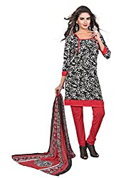 ZHot Fashion Crepe Multi Disigner Salwar Suit Material (RHPL1019)