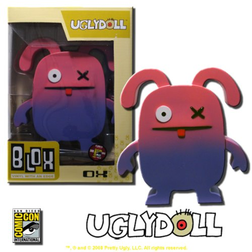 Ugly Doll - OX - Funko Blox Vinyl Figure - Rare SDCC Exclusive!