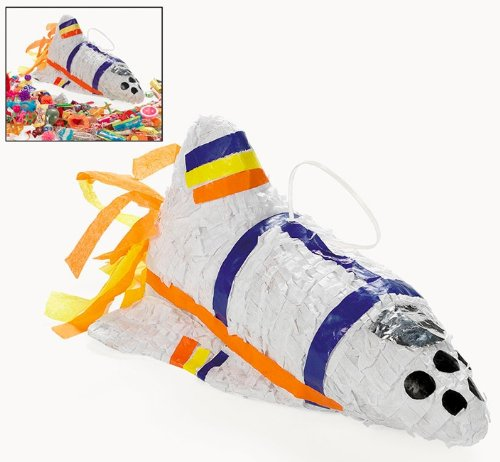 Rocket Ship Pinata