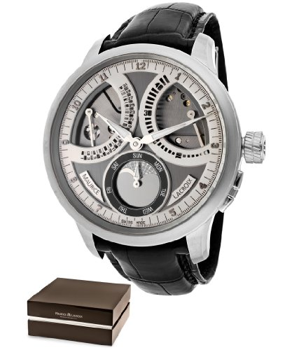 Men's Masterpiece Lune Retrograde Mechanical Grey/silver (925) Dial Limited Edition
