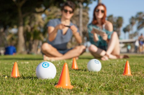 Sphero iOS and Android App Controlled Robotic Ball - Retail Packaging - White