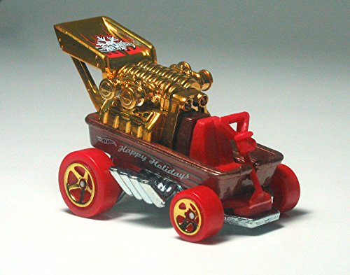 HOT WHEELS HOLIDAY HOT RODS 2014 SERIES DRAGGIN' WAGON 7/8