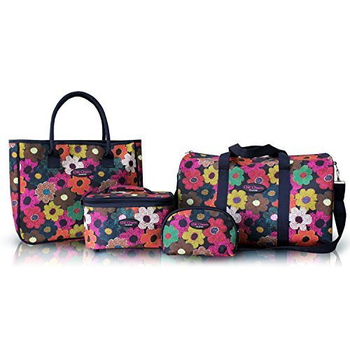 jacki-design-abx15037-travel-tote-and-cosmetic-bag-set-4-piece-by-jacki-design