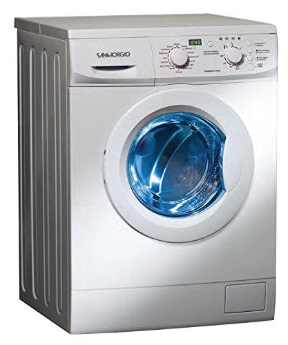 SanGiorgio SES710D Libera installazione 7kg 1000RPM A++ Bianco Caricamento frontale lavatrice