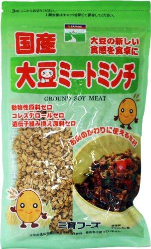 三育フーズ 国産大豆ミートミンチ 130g
