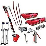 Level 5 Full Set of Automatic Drywall Taping Tools (Free Stilts)