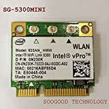 WiFi Link 5300AGN For Intel Wireless LAN Half Size Mini PCI-E Wlan Card 450Mbps 533AN_HMW MIMO 802.11a/b/g/Draft-N1 2.4/5.0 GHz