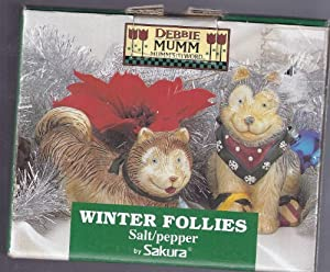 Amazon.com: Winter Follies Debbie Mumm Pepper Shakers By Sakura ...