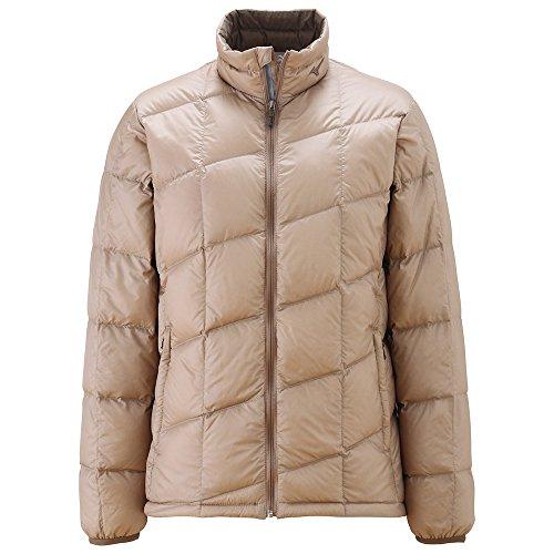 (ミズノ)Mizuno ブレスサーモダウン ライトウェイトジャケット [WOMEN'S] A2JE4756 49 スモークベージュ L