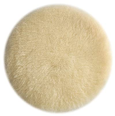PORTER-CABLE 18007 6-Inch Lambs Wool Hook and Loop Polishing Pad New Free Shi