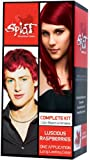 Splat Rebellious Colors Complete Hair Color Kit Luscious Raspberry (Pack of 2)