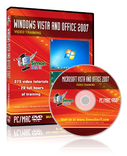 Learn Microsoft Office 2007 And Windows Vista - Video Training Tutorials For Windows Vista, Excel, Word, Powerpoint, Outlook, And Access 2007