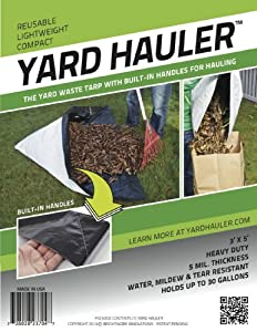 Yard Hauler: Yard Waste Hauling Tarp