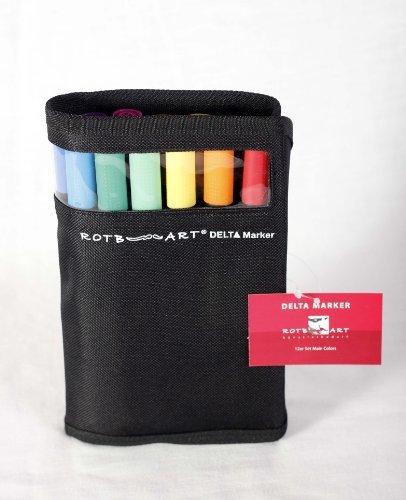 rotbart-delta-marker-12er-set-main-colours-designmarker-grafikmarker-mangamarker