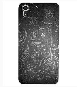 ColourCraft Beautiful Pattern Design Back Case Cover for HTC DESIRE 626