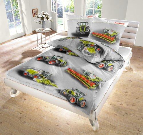 claas parure de lit tracteur et moissoneuse 135 200cm 80 80cm fabrication allemande. Black Bedroom Furniture Sets. Home Design Ideas