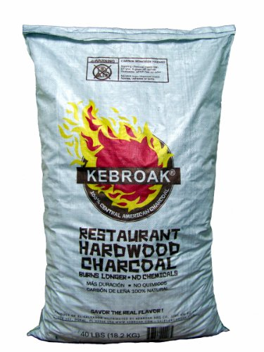 Learn More About Kebroak KHWC40LB 40-Pound Hardwood Lump Charcoal Bag