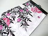 浴衣レディースお仕立て上がりナカノヒロミチ白地薔薇柄yu1524