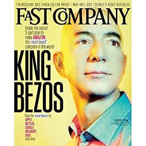 Audible Fast Company, September 2013 | [Fast Company]