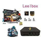 Leelbox 2017  MXQ Pro Android tv box Kodi 16.0 Android 5.1 Amlogic S905 Quad Core 1gb RAM 8gb Flash Support Wifi 4K Google Streaming Media Players