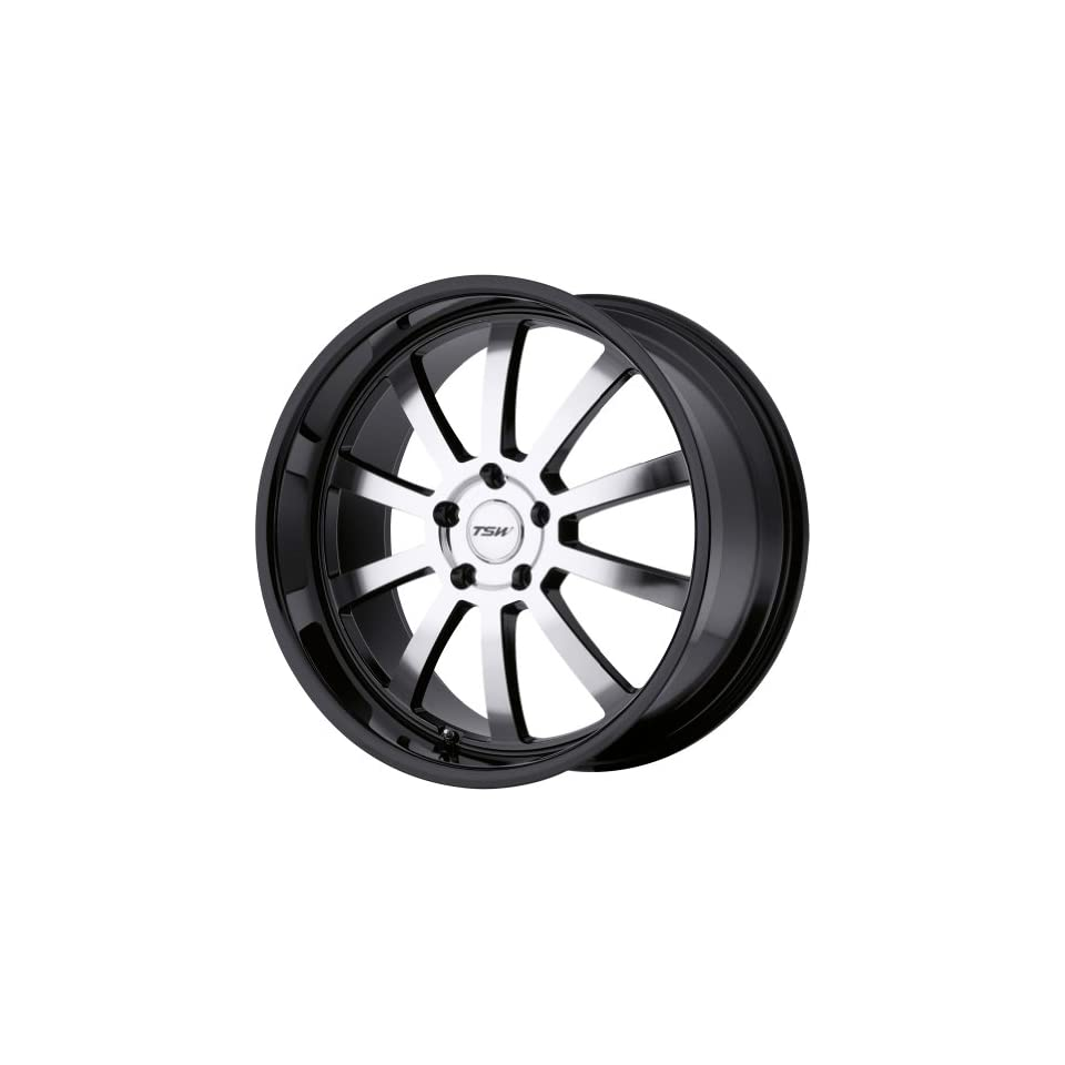 TSW Alloy Wheels Willow Gloss Black Wheel with Machined Face (20x10/5x120mm)