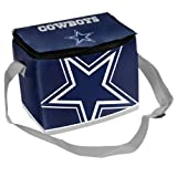 Dallas Cowboy Big Logo 12 Pack Zipper Lunch Cooler