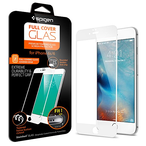 iPhone6S 全面強化ガラスフィルム, Spigen®  發油加工