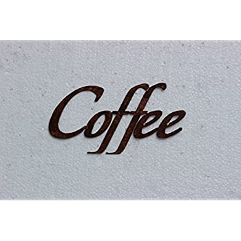 Coffee Word Kitchen/Home Decor Metal Wall Art