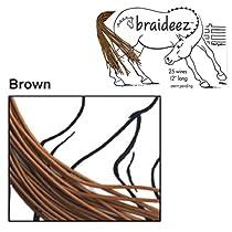 Braideez Wire Braiding Band, Brown