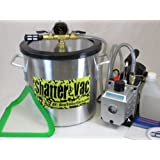 3 Gallon Aluminum Shatter Vac Kit