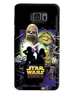 Blue Throat Star Wars Episode Vi Printed Designer Back Cover/Case For Samsung Galaxy Note 5