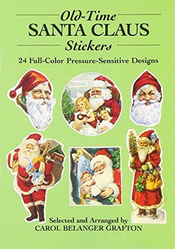 Old-Rime Santa Claus Stickers: 24 Full-Colour Pressure-Sensitive Designs (Dover Stickers)