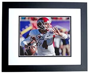 Derek Carr Autographed Hand Signed Fresno State Bulldogs 8x10 Photo BLACK CUSTOM... by Real Deal Memorabilia