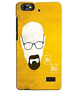 EU4IA BREAKING BAD MATTE FINISH 3D MATTE FINISH Back Cover Case For Huawei Ho...