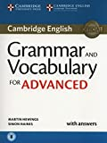 img - for Grammar and Vocabulary for Advanced Book with Answers and Audio: Self-Study Grammar Reference and Practice book / textbook / text book