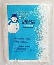 Winter Wonderland Holiday Decorating Snow (Christmas Tree Skirt)