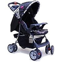 Ador Convenio 44 One Touch Fold Baby Stroller Navy Blue