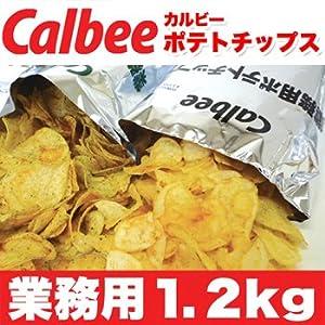 メガ盛り★業務用Calbee(カルビー)ポテトチップス1.2kg(のりしお)×30 ≪常温商品≫