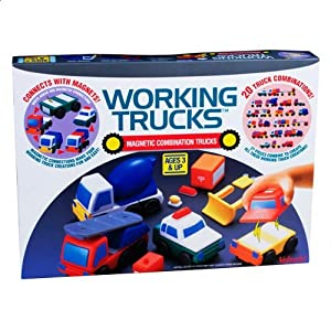Amazon Com Magna Tiles Working Trucks Toys Amp Games