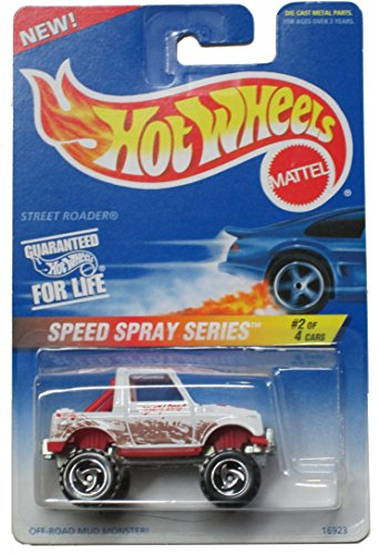 Hot Wheels Speed Spray Series #550 Street Roader #2 of 4 - Razor Wheels