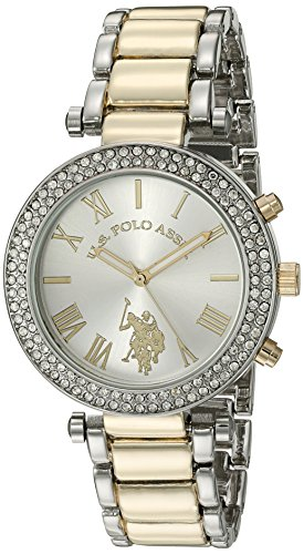 U.S. Polo Assn. Women's Quartz Two Tone Dress Watch (Model: USC40171)