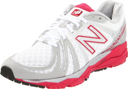 New Balance Women's W890PW2 White/Pink Trainer 4.5 UK, 37 EU, 6.5 US B