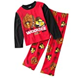 "Angry Birds Little Boys' Star Wars ""Wookie"" Fleece Pajama Set"